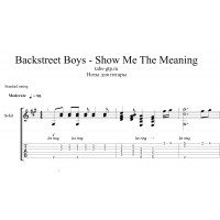 Show Me the Meaning of Being Lonely - Backstreet Boys