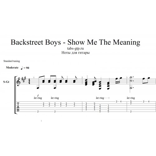 backstreet boys show me the meaning song