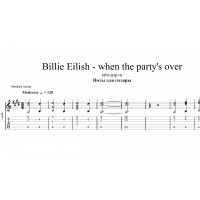 When the party's over - Billie Eilish