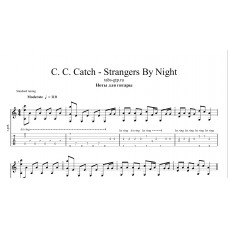 Strangers By Night - C. C. Catch