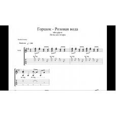 Розовая вода - Горшок|Михаил Горшенёв