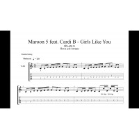 Girls Like You - Maroon 5 feat. Cardi B