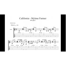 California - Mylène Farmer