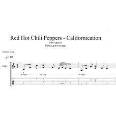 Californication - Red Hot Chili Peppers