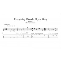 Everything I Need - Skylar Grey