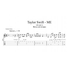 ME - Taylor Swift