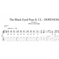 DOPENESS - The Black Eyed Peas ft. CL