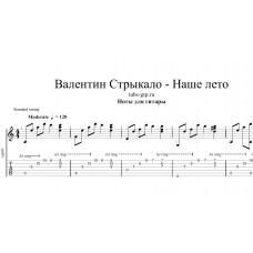 Наше лето - Валентин Стрыкало