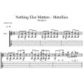 a textual analysis of metallicas nothing else matters Lyrics to 'nothing else matters' by metallica: trust i seek and i find in you every day for us something new open mind for a different view and nothing else.