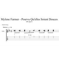 Pourvu Qu'Elles Soient Douces - Mylène Farmer