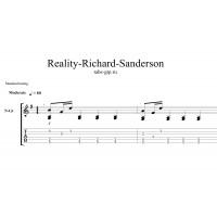 Reality - Richard Sanderson